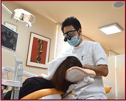 府中市の歯医者 武田歯科の一般歯科 駐車場完備
